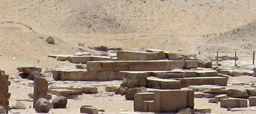 Пирамида Униса. Место пирамиды - спутника.