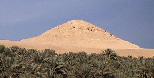Пирамида фараона Джедкара Исеси.