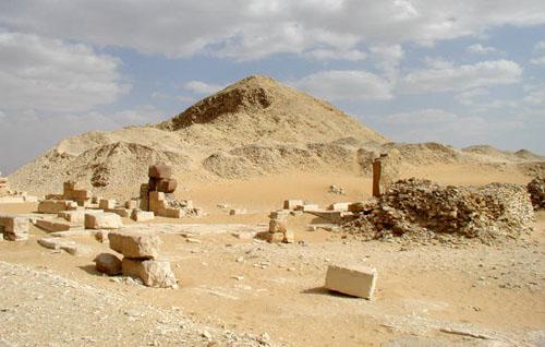 Пирамида фараона Пепи II.