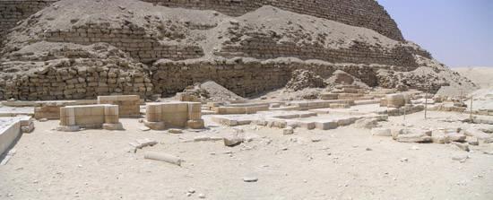 Погребальный храм фараона Джосера.