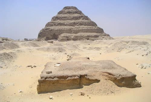 Алтарь комплекса пирамиды Джосера.