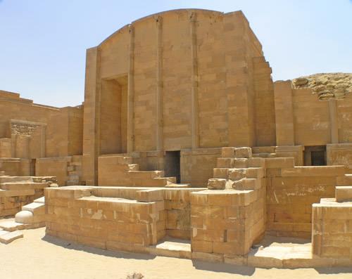 Молельня первого вида. Фараон Джосер. Погребальный комплекс.