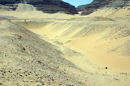 Место гробницы фараона Хасехема