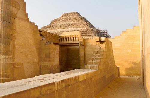Храм Т. Внутренее строение. Пирамида фараона Джосера.Саккара.