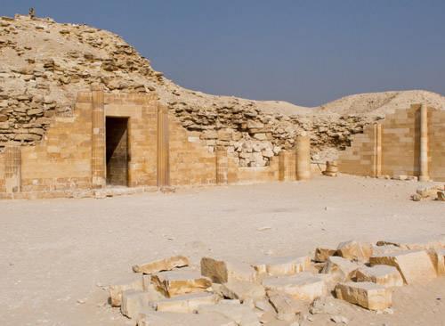 Южный дом погребального комплекса. Фараон Джосер.