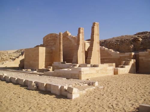 Царский павильон фараона Джосера.