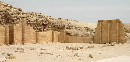 Северный дом комплекса пирамиды Джосера.