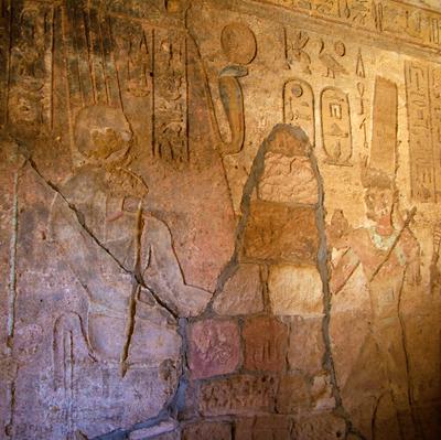 Рельеф из храма Амона.