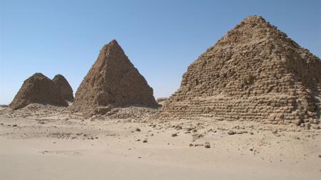 Пирамиды в Нури. Судан.