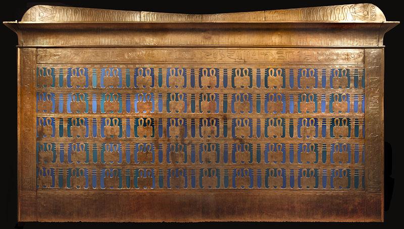 Первый ковчег фараона Тутанхамона.