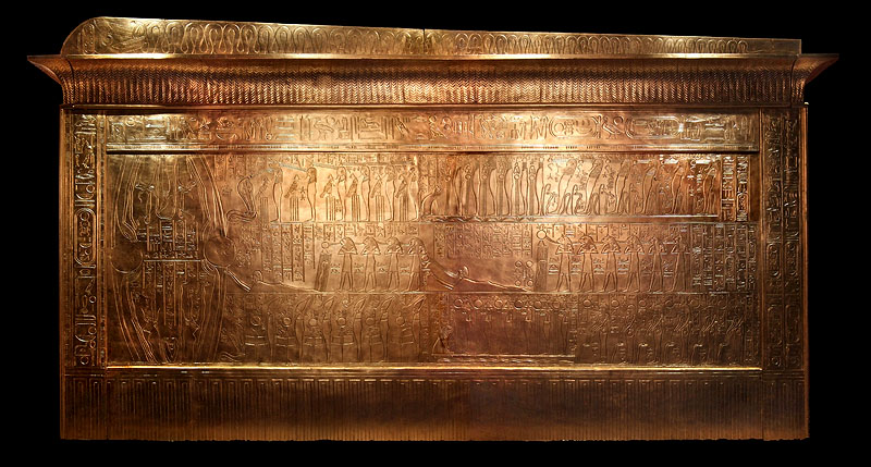 Второй ковчег фараона Тутанхамона.