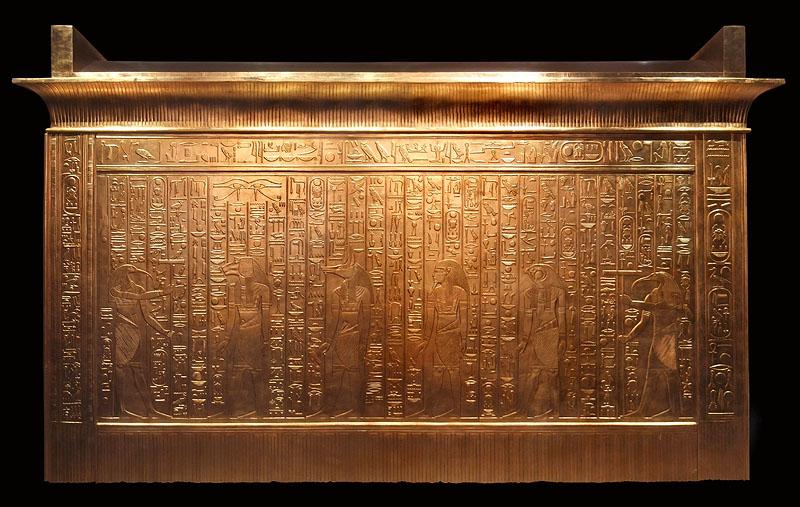 Четвертый ковчег фараона Тутанхамона.