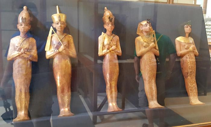Фигурки ушебти фараона Тутанхамона